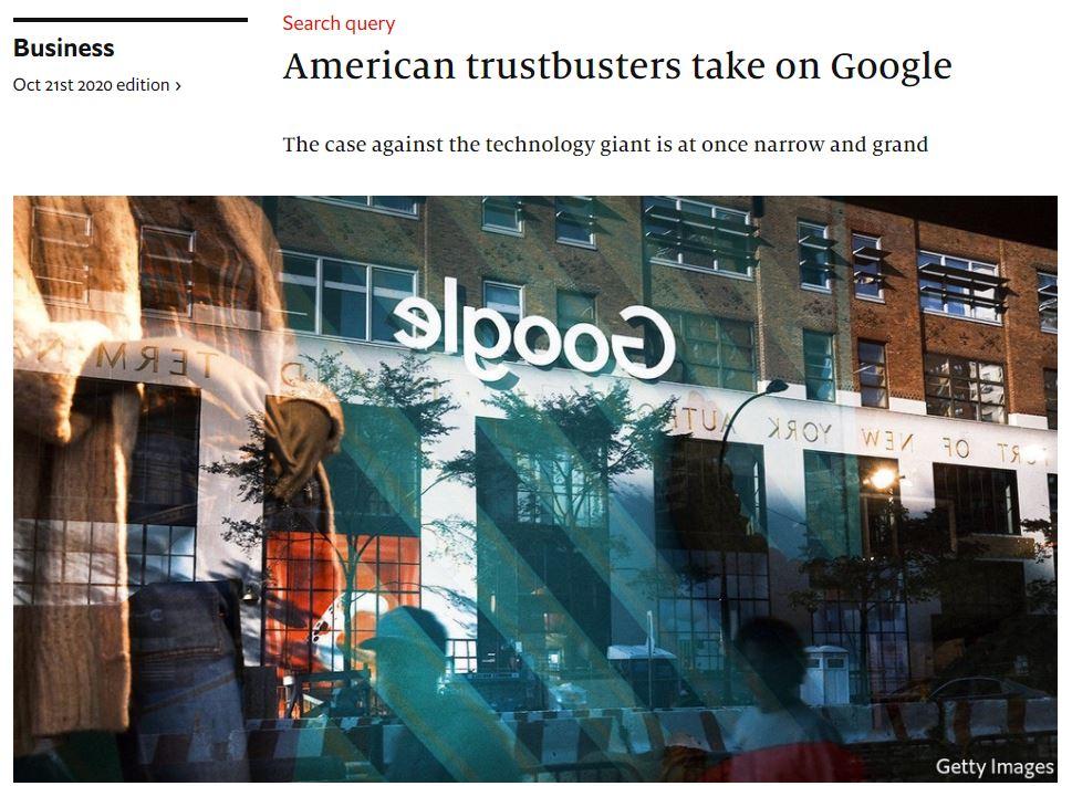 american trustbusters take on google economist 20201021