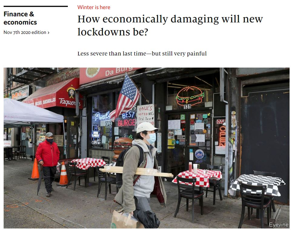 economist_2020-11-07_How economically damaging will new lockdowns be.