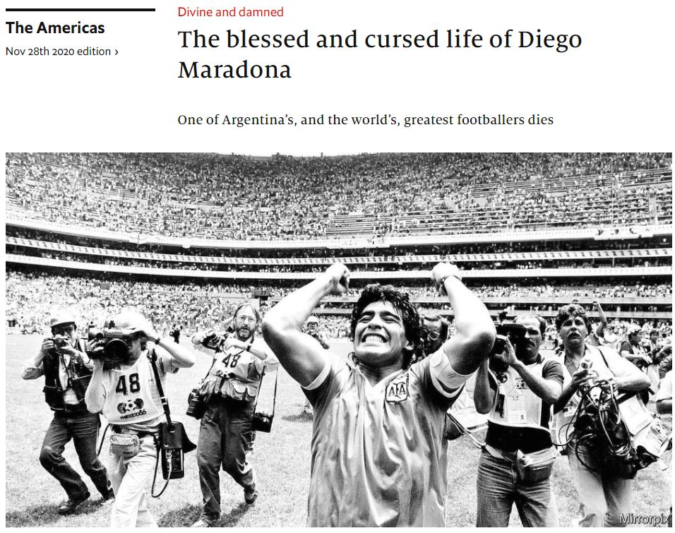 economist_2020-11-28_The blessed and cursed life of Diego Maradona