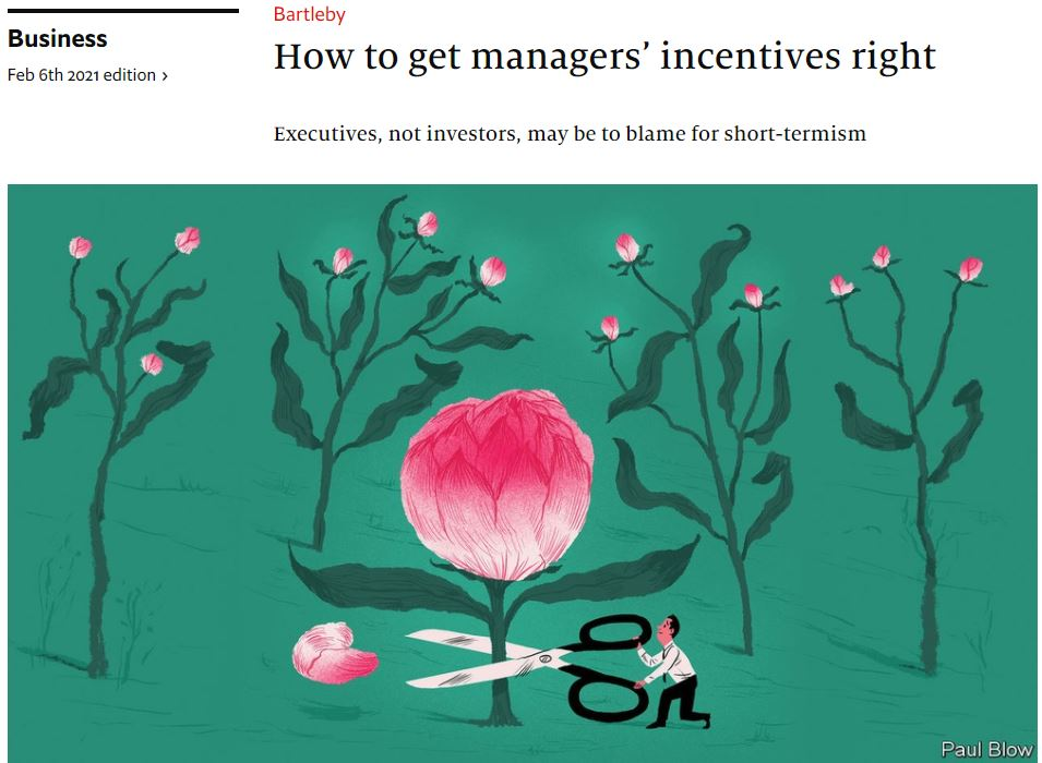 econ-2021-02-06 How to get managers' incentives right